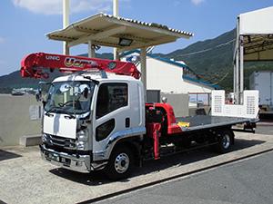 いすゞ4t積載車