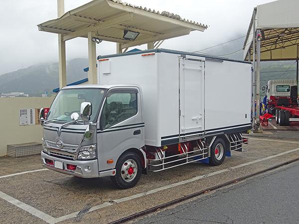 小型冷凍車